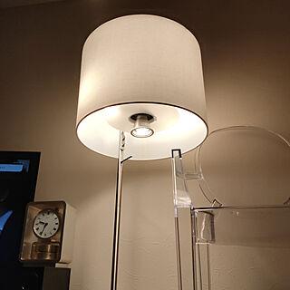 リビング/RoomClipアンケート/照明/IKEA/一人暮らしのインテリア実例 - 2020-04-01 21:38:53