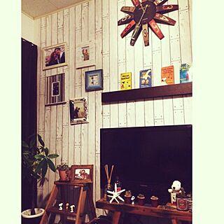スヌーピー/観葉植物/パキラ/ハンドメイド/サボテン...などのインテリア実例 - 2015-08-10 20:14:56