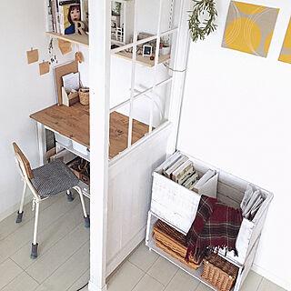 女性38歳の家族暮らし3LDK、お気に入りスペース♡に関するmayuringoさんの実例写真
