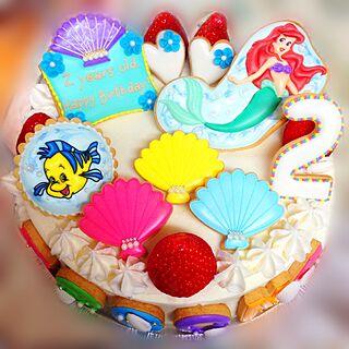 キッチン/誕生日ケーキ/バースデーケーキ/ケーキ/disney...などのインテリア実例 - 2016-04-16 07:57:35