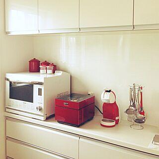 女性33歳の家族暮らし4LDK、ボンヌママンジャム瓶に関するchi-chanさんの実例写真