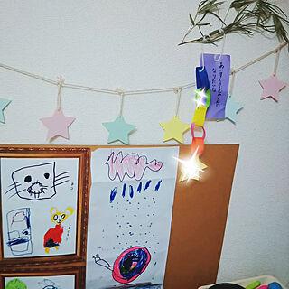 女性32歳の家族暮らし2LDK、生活感たっぷりに関するYurieさんの実例写真