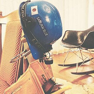 男性43歳の一人暮らし4LDK、ヘルメットに関するLa12さんの実例写真