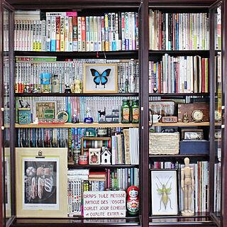 女性家族暮らし、書籍に関する48=SHI-BAさんの実例写真