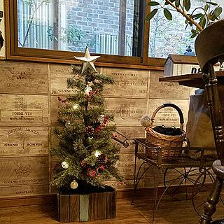 部屋全体/niko and…/クリスマスツリー/クリスマスツリー足元/セルフリフォーム...などのインテリア実例 - 2017-11-06 16:35:05