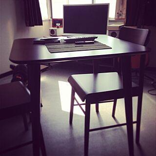 部屋全体/ペット/もこの部屋/何もない部屋/ダイニングテーブル&チェアーのインテリア実例 - 2013-06-23 10:10:36