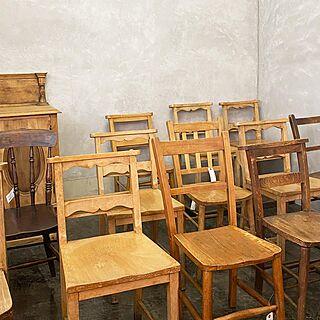 Rocca-clann/ダイニングチェア/英国アンティーク/教会の椅子/アンティーク...などのインテリア実例 - 2020-10-02 12:12:48