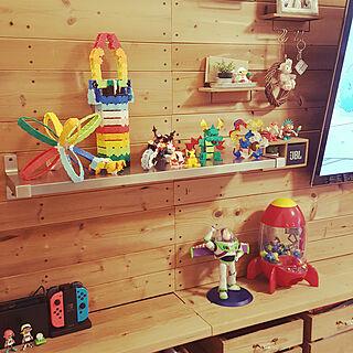 棚/お気に入り/マンション/IKEA/ディズニー...などのインテリア実例 - 2019-03-27 18:09:03