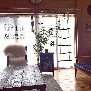 女性家族暮らし、キャビネット天板に関するmamyuさんの実例写真
