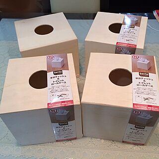 女性家族暮らし、100均一box リメイクに関するryumamaさんの実例写真