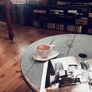 、ケーブルドラムのテーブルに関するさんの実例写真
