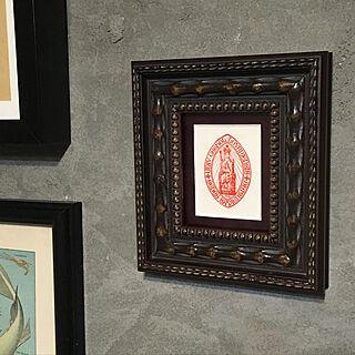 男性家族暮らし、DIY漆喰の壁に関するohama147さんの実例写真
