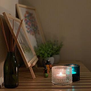 ittala/キャンドルのある暮らし/candle night/Candle/キャンドルナイト...などのインテリア実例 - 2020-10-18 19:40:28