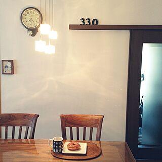 部屋全体/フランフラン/Francfranc/照明/ダイニングテーブル...などのインテリア実例 - 2014-04-07 07:30:50