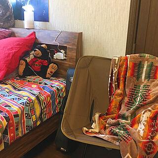 女性27歳の家族暮らし3LDK、ベッド周りではありません!に関する96moさんの実例写真