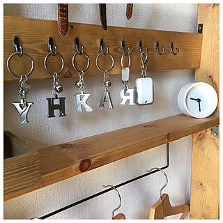 女性家族暮らし4LDK、鍵かけに関するkanaさんの実例写真