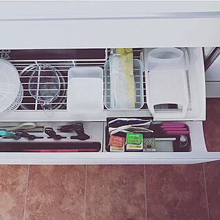 女性家族暮らし4LDK、リクシルキッチンに関するohoshisama623さんの実例写真