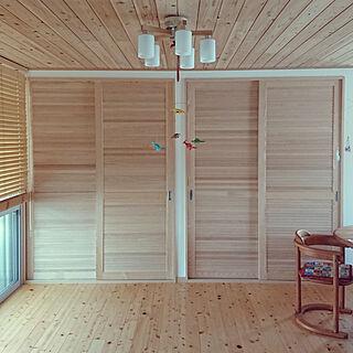 家族暮らし3LDK、家具はお義父さんがDIY!に関するwisteriaさんの実例写真