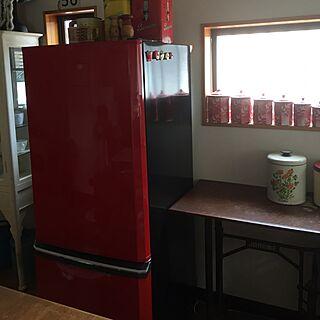 女性家族暮らし、MITSUBISHI冷蔵庫に関するakahoshianさんの実例写真