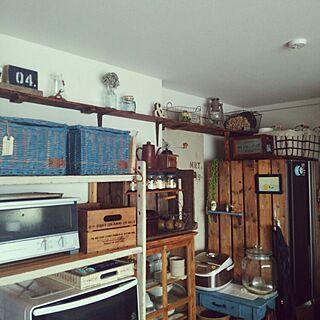 キッチン/DIY/ナチュラル/&/ペイント...などのインテリア実例 - 2015-07-02 15:48:46