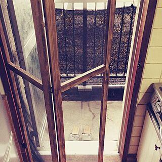 女性31歳の家族暮らし3LDK、手作り網戸に関するtommy_0172さんの実例写真