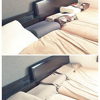 女性の、、の「ベッド周り」についてのインテリア実例