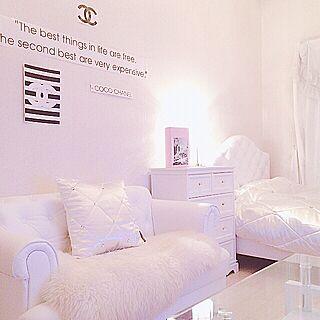 女性一人暮らし1R、whiteroomに関するLiLiy.coCoさんの実例写真