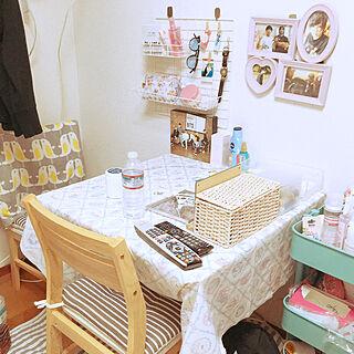 女性27歳の一人暮らし1K、おしゃれな部屋にしたいに関するYUZUKIさんの実例写真