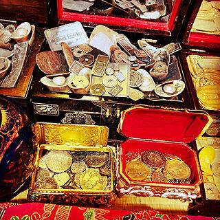 銀/財宝/和風が好きです!/古代/装飾品...などのインテリア実例 - 2021-05-13 08:05:05
