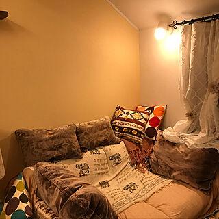 家族暮らし、Lounge ソファに関するhinoteriさんの実例写真
