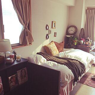 女性一人暮らし1R、1Rマンションのお部屋に関するkikoさんの実例写真