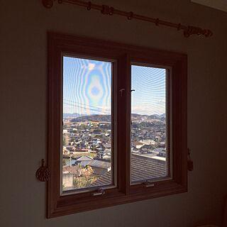 ベッド周り/寝室の窓から見えた景色/大掃除中のインテリア実例 - 2016-12-30 11:22:49