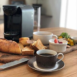 カフェ風ご飯/カッティングボード/おうちカフェ/DRIP POD/コーヒーマシン...などのインテリア実例 - 2019-11-12 13:30:55