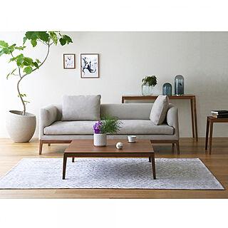 家族暮らし、KIVIK3人掛けソファに関するtakano_mokkouさんの実例写真