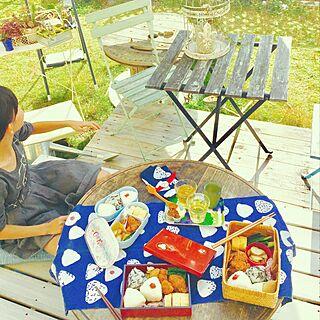 壁/天井/いいね&フォローありがとうございます☆/お庭/手ぬぐい/Food clip/ちゃぶ台...などのインテリア実例 - 2016-11-13 17:34:13
