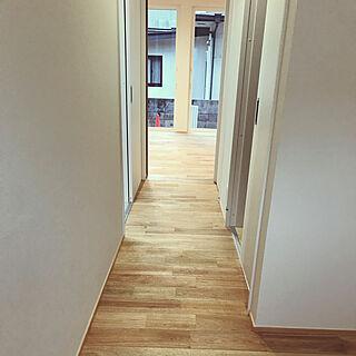 廊下/無垢床 くるみ/無垢床/壁/天井のインテリア実例 - 2019-02-27 10:25:13