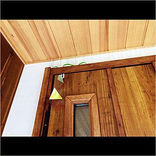男性36歳の家族暮らし4LDK、燕の巣対策に関するTOMOさんの実例写真