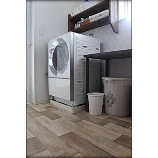 家族暮らし、ドラム式洗濯機に関するshiratamaさんの実例写真