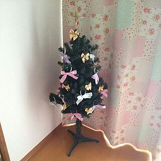 リビング/賃貸/クリスマスツリー/手作り/セリア...などのインテリア実例 - 2014-12-08 14:27:57