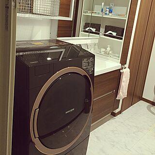 女性32歳の家族暮らし4LDK、無印良品 ドラム式洗濯乾燥機に関するma0516hoさんの実例写真