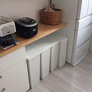 キッチン/ジョイフルエーケー/like-it/イーラボスマートペール/ゴミ箱...などのインテリア実例 - 2016-12-30 10:43:40