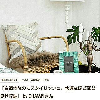 女性一人暮らし3LDK、Roomclip mag掲載❁に関するCHAMPIさんの実例写真