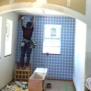 女性家族暮らし4LDK、新築建築中に関するmaric323さんの実例写真
