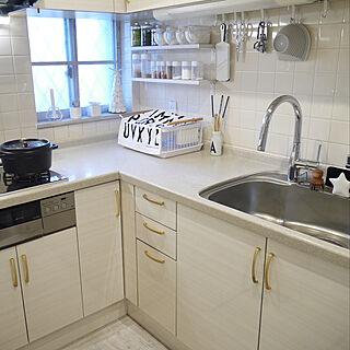 キッチン/DIYキッチン/海外インテリア好き/小家(こうち)/IKEA...などのインテリア実例 - 2018-12-28 11:15:03