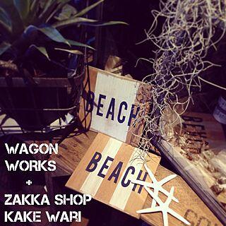 棚/WAGON WORKS/RC愛知/RC東海/エアーブランツ...などのインテリア実例 - 2015-04-23 20:14:09