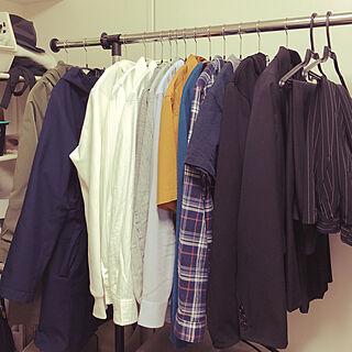 20歳の家族暮らし3DK、洋服収納に関するkinocoさんの実例写真