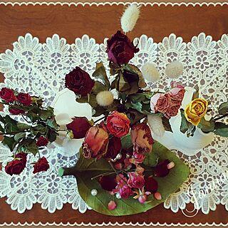 女性4LDK、お花屋さんで購入に関するNatashyaさんの実例写真
