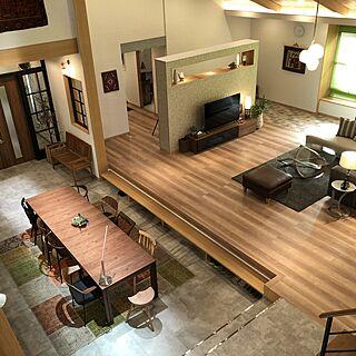 デンマーク家具/床材/土間のある暮らし/おしゃれな家/デンマークヴィンテージ...などのインテリア実例 - 2021-04-20 23:09:18