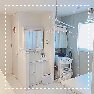 バス/トイレ/みぃポイント/中干し/内干し/洗濯機周り...などのインテリア実例 - 2019-02-03 12:22:36
