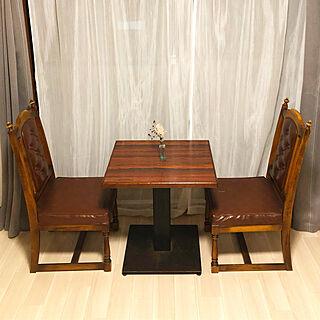 女性一人暮らし、喫茶店椅子に関するakmgn39さんの実例写真